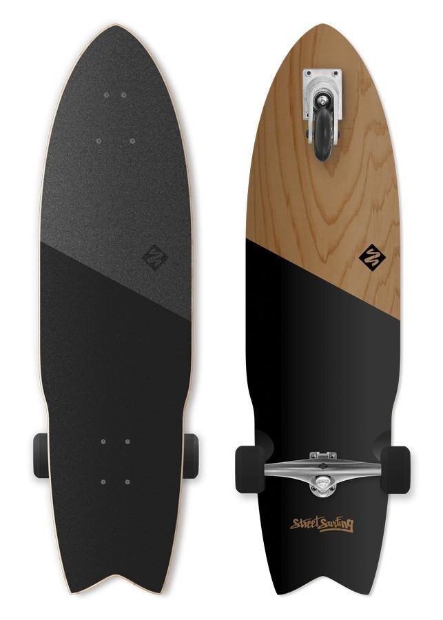 Surf skate rolke