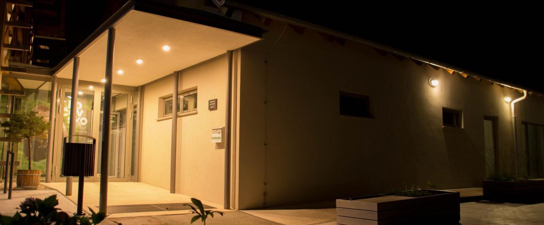 Zunanja LED razsvetljava hiše