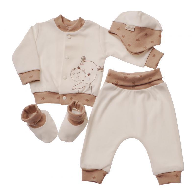 Komplet za novorojenčka iz porodnišnice
