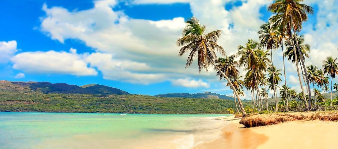 Rajska plaža v Dominikanski republiki