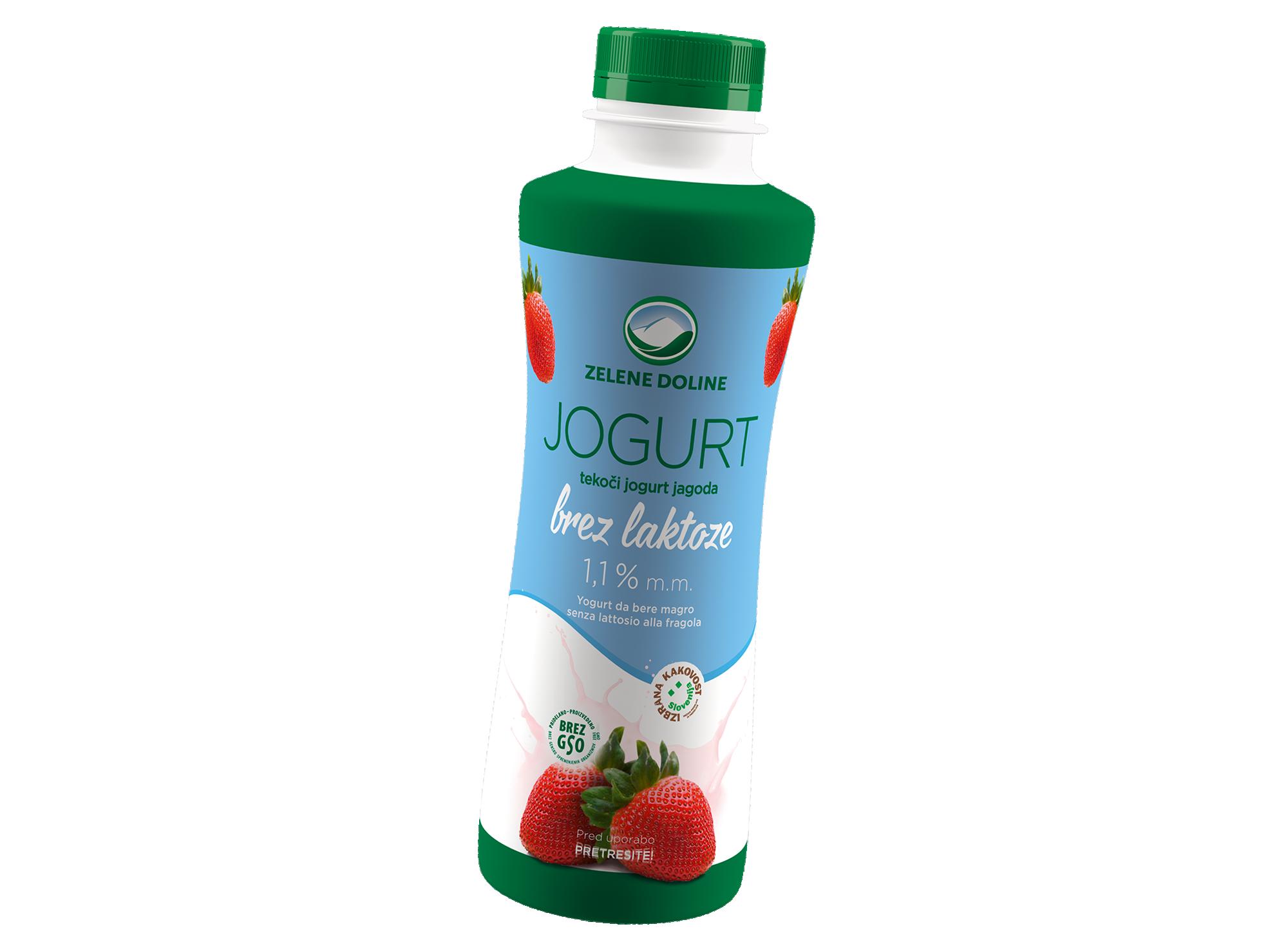 Brezlaktozni jogurt