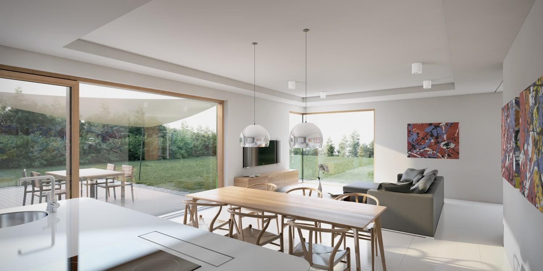 Oprema v modernih stanovanjskih hišah