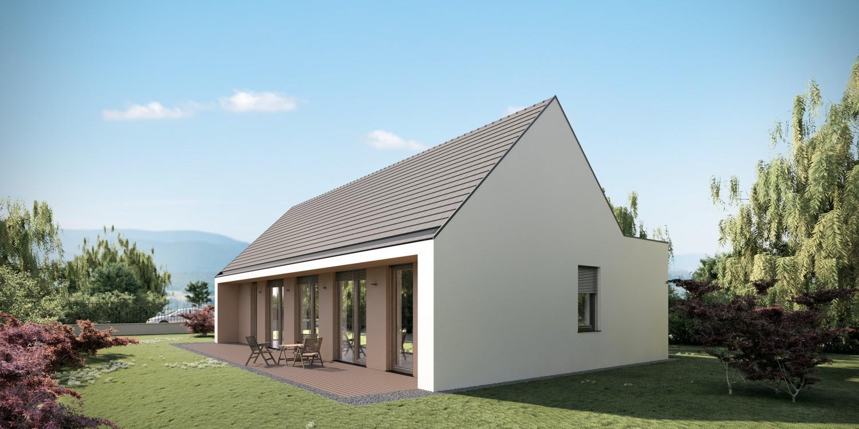 Gradnja pritlične hiše