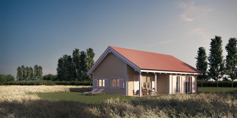 Čudovite nizkoenergijske hiše različnih tipov