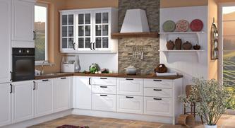 Za moderne kuhinje po meri značilne ravne in visoke linije.