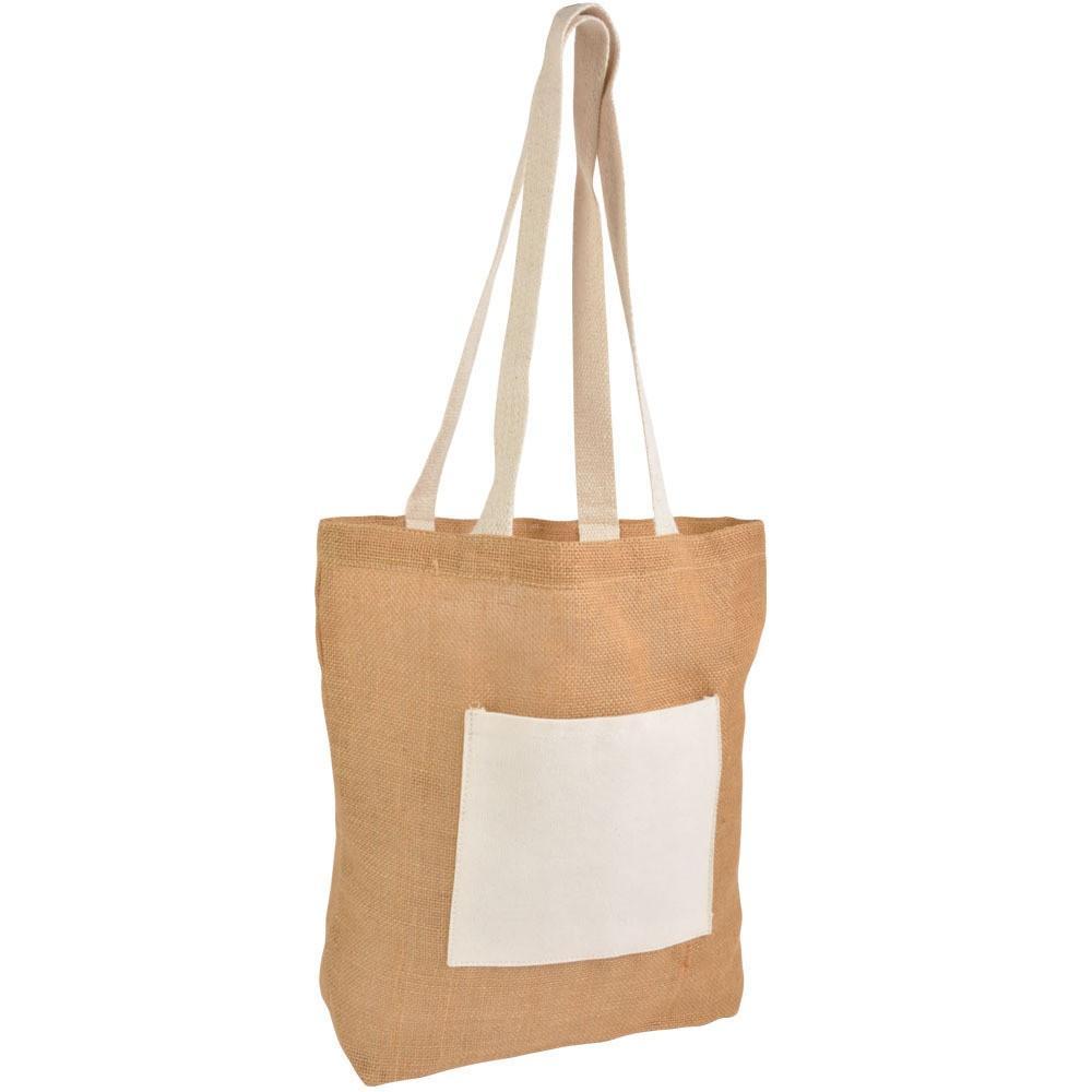 Ekološka nakupovalna vrečka kot osnova v kateri podarite glavno darilo