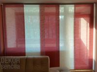 Pravilne ravne linije naredijo panelne zavese elegantne
