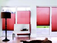 Plise zavese so moderna dekoracija in praktična zaščita v enem