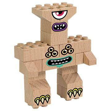otroska lesena pošast