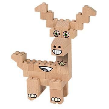 jelen lesena igrača