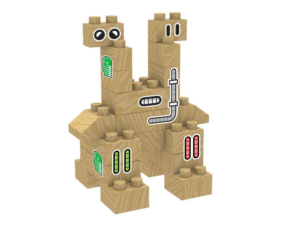 lesena pošast igrača