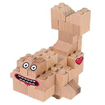 lesena igrača riba
