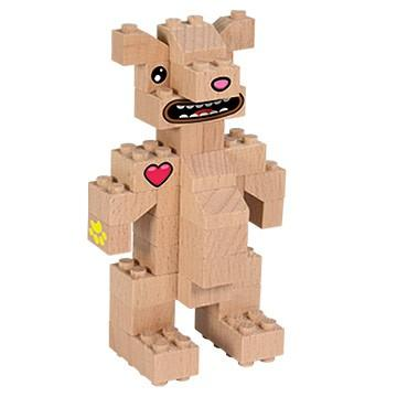 lesena igrača medved