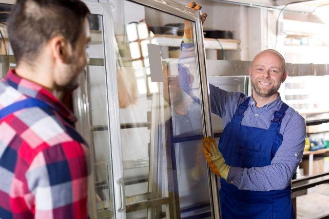 montaža alu oken