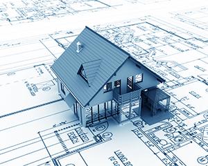Gradnja nove hiše poteka v večih gradbenih fazah