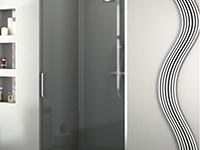Steklena vrata in stene za kopalniško opremo