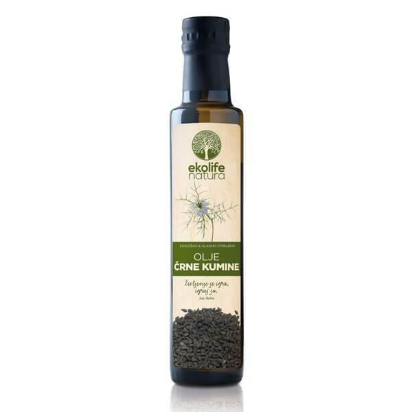 Bio olje črne kumine Ekolife Natura