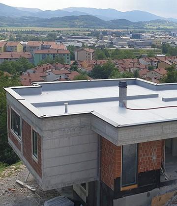 zamnejava pločevinske strehe