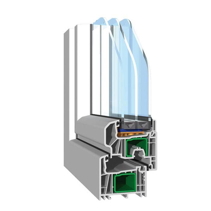 PVC okno linije Streamline