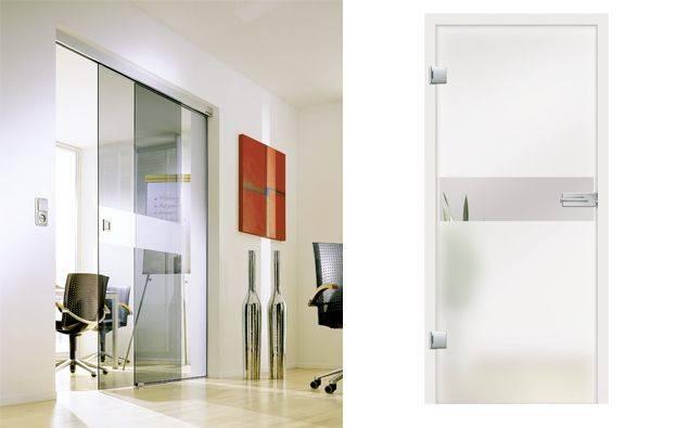 moderna steklena vrata