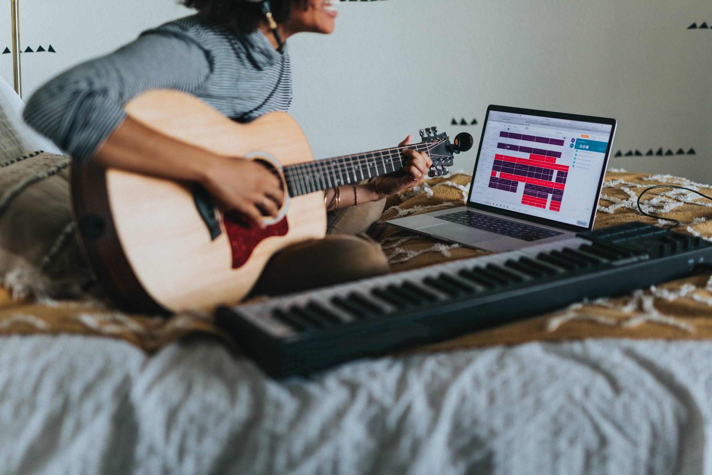 Učenje kitare na daljavo