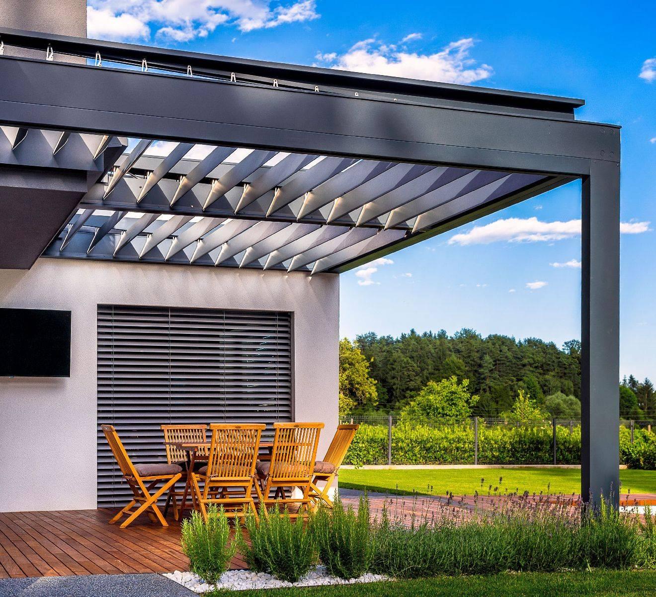 Neuničljive Hard-Top bioklimatske pergole za terase