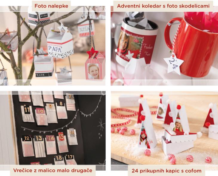 Adventni koledarji za praznike