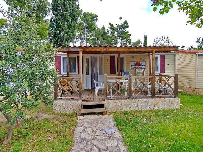 Biograd na moru Kamp Soline - počitnice v mobilnih hiškah