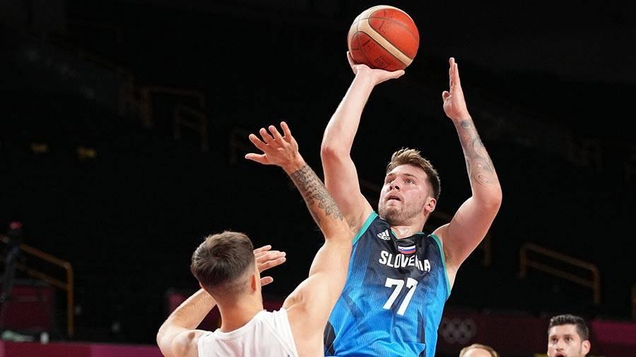 Luka Dončić z 48 točakmi proti Argentincem