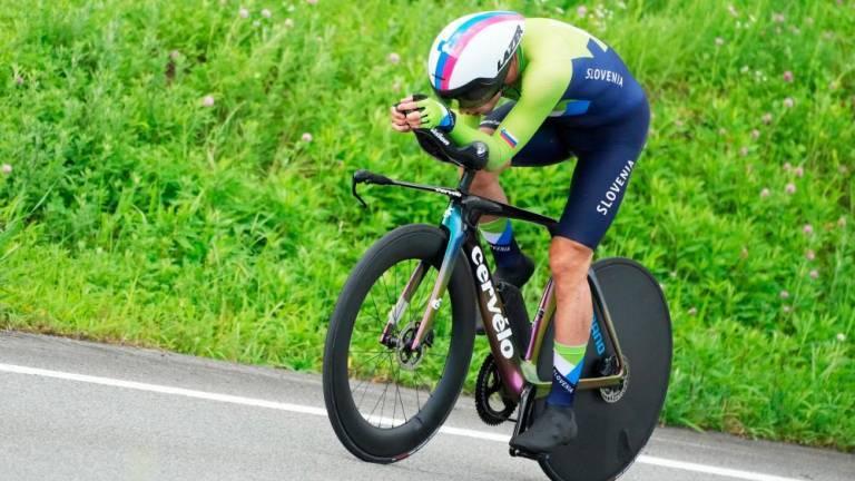 Olimpijski prvak Primož Roglič v vožnji na kronometer