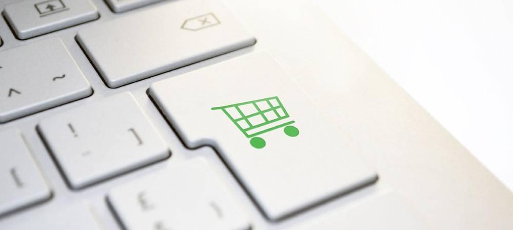 Nakupovanje preko spletne trgovine