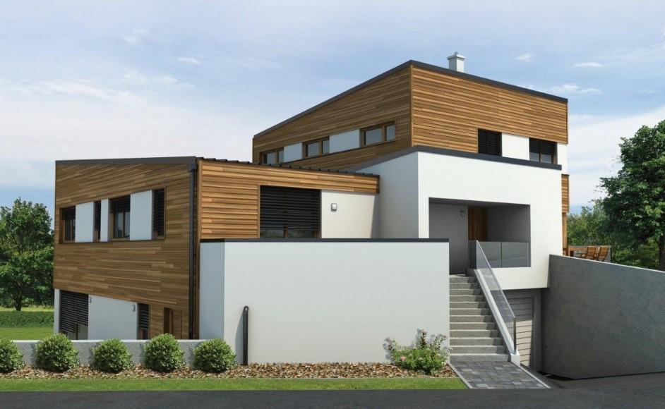 Moderna hiša na ključ - Dvojček