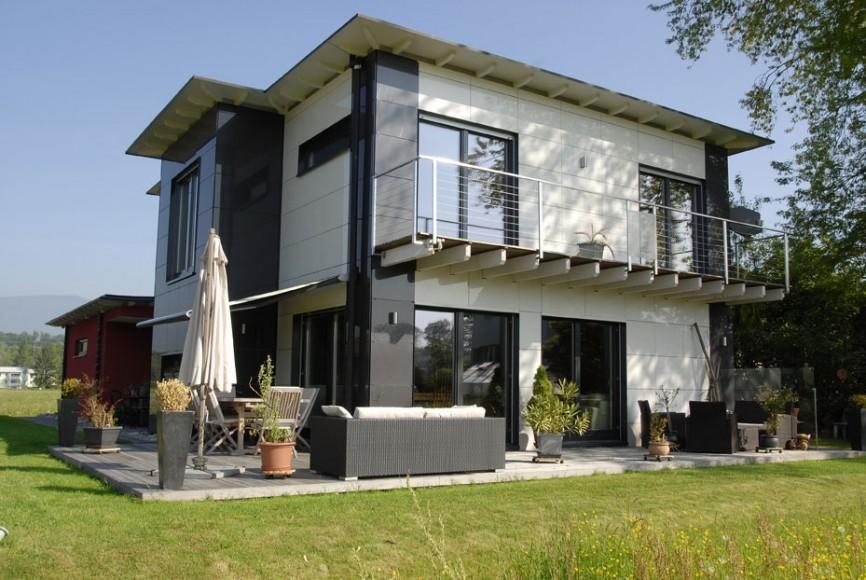 Moderna hiša na ključ - Minergie