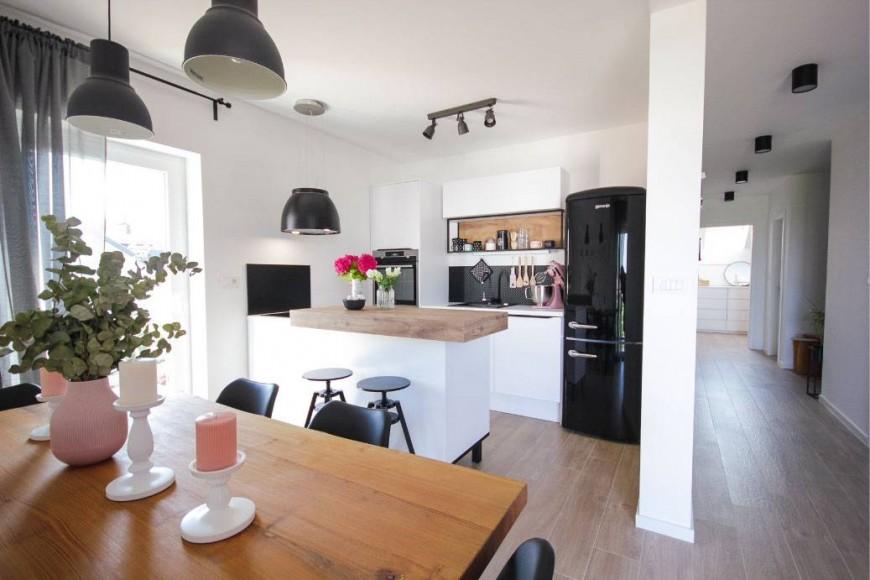 Skandinavska minimalistična kuhinja