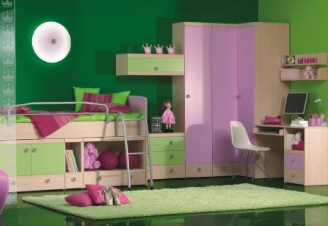 Akcija na pohištvo za otroške sobe Planet