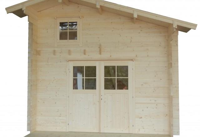 Loghouse novost vrtna hiša