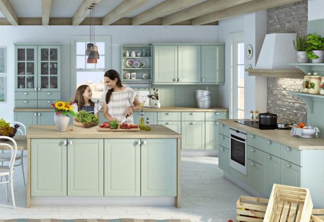 Akcija delovnih plošč v kuhinji