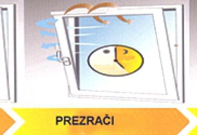 Prezrači in avtomatsko zapri PVC okna s sistemom Winflip®