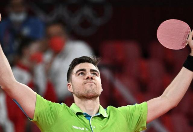 Darko Jorgić presenetil Japonca in se uvrstil v četrtfinale